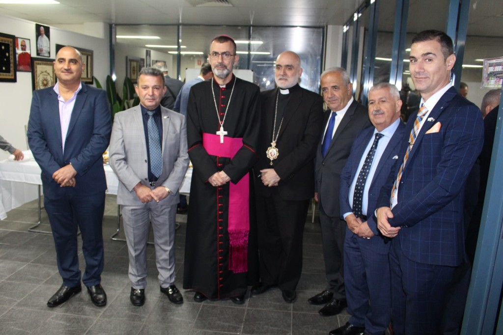 CAS-Attending the Opening Ceremony of the New Chaldean League Centre in Mt Druitt