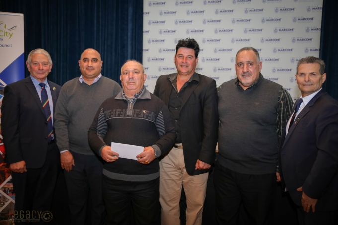CAS Committee Members with Club Marconi Directors - 2019 Fairfield ClubGRANTS Presentation Ceremony