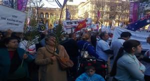 Sydney Protest-Iraqi Christians Crisis
