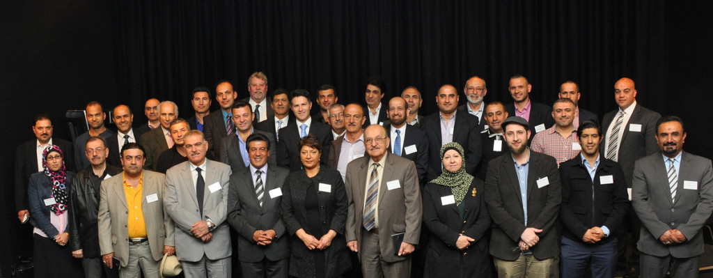 Iraqi Community Leaders with Minister for Citizenship and Communities-NSW